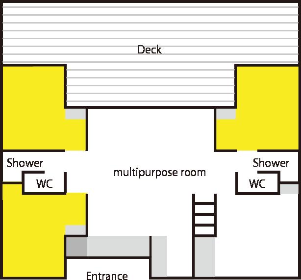 Western style floor plan